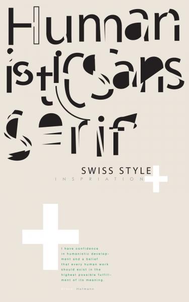 Type Poster Series Sans Serif Stiels Designs